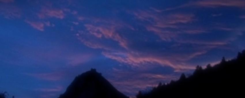 le bleu magrittien de l'imaginaire…