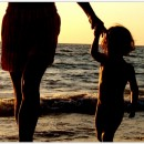 Ce père qui est un peu la mer…